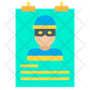 Wanted Poster Wanted Banner Icon