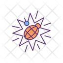 War Trauma Conflict Icon