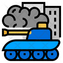 War Tank Battle Icon