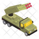 War Truck Military Truck Armoured Truck Machine Icon