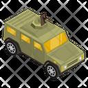 War Vehicle Armoured Jeep Military Jeep Icon