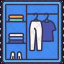 Cabinet Dressing Shelf Icon