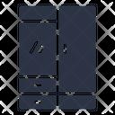 Wardrobe Cabinet Closet Icon