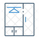 Wardrobe Cupboard Almirah Icon