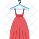 Clothing Garments Long Skirt Icon