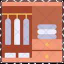 Wardrobe Cupboard Furniture Icon