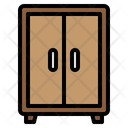 Wardrobe Cabinets Storage Icon