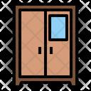 Wardrobe Mirror Cabinets Icon