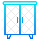 Wardrobe Cupboard Cabinet Icon
