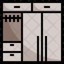 Wardrobe Closet Furniture Icon