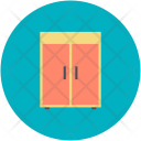 Wardrobe Cabinet Clothes Icon