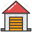 Warehouse Storehouse Building Icon