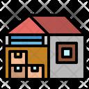 Warehouse Storage Stocks Icon