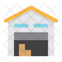 Warehouse Logistic Delivery Icon