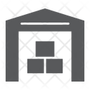 Warehouse Building Store Icon