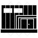 Hangar Storage Warehouse Icon