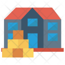 Factory Store Delivery Icon