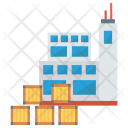 Warehouse Factory Office Icon