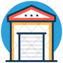 Warehouse Storage Garage Icon