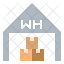 Warehouse Storehouse Dropship Icon