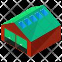 Warehouse Small Isometric Icon