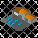 Storage Warehouse Property Icon
