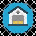 Warehouse Garage Factory Icon