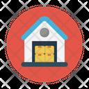 Warehouse Factory Box Icon
