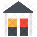 Storage Room Warehouse Icon