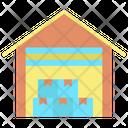 Logistic Warehouse Warehouse Godown Icon