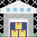 Warehouse Storehouse Godown Icon