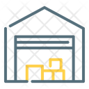 Warehouse Depot Storehouse Icon