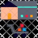 Stock Warehouse Stockpile Icon