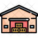 Warehouse Logistic Shipping Icon