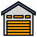 Depot Storehouse Warehouse Icon Icon