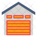 Depot Storehouse Warehouse Icon Icon