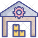 Factory Inventory Parcel Icon
