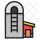 Agriculture Barn Shed Icon