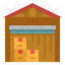 Warehouse Storage Stocks Icon