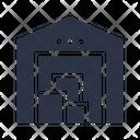 Warehouse Depot Storehouse Icon