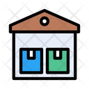 Warehouse Factory Industry Icon