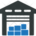 Warehouse Storage Depot Icon