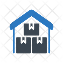 Warehouse Shipping Cargo Icon