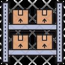 Warehouse Parcel Carton Icon