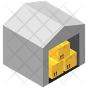Logistics Delivery House Icon