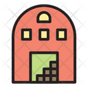 Warehouse Building House Icon