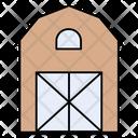 Warehouse Farm Shelter Icon