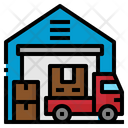 Ware House Factory Icon