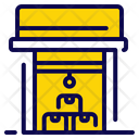 Warehouse Package Shipping Icon
