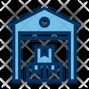 Warehouse Storage Logistic Icon